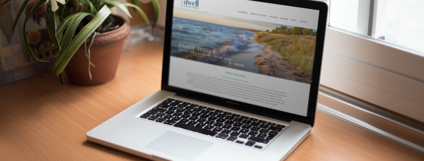 Dwell vacations WordPress theme customization