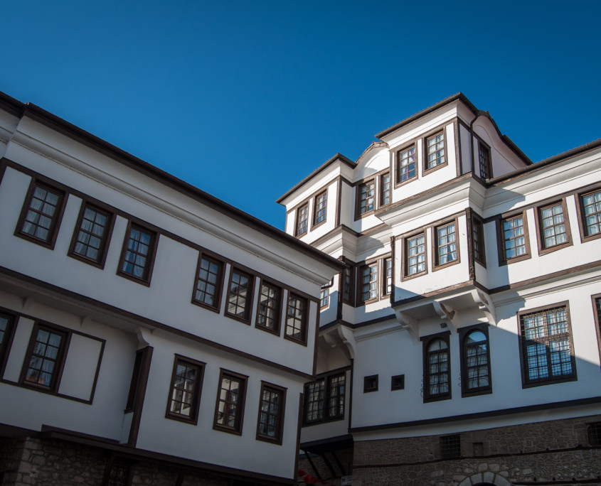 Famous Ohrid architecture