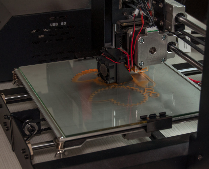 Duplicator I3 - printing on the glass build plate