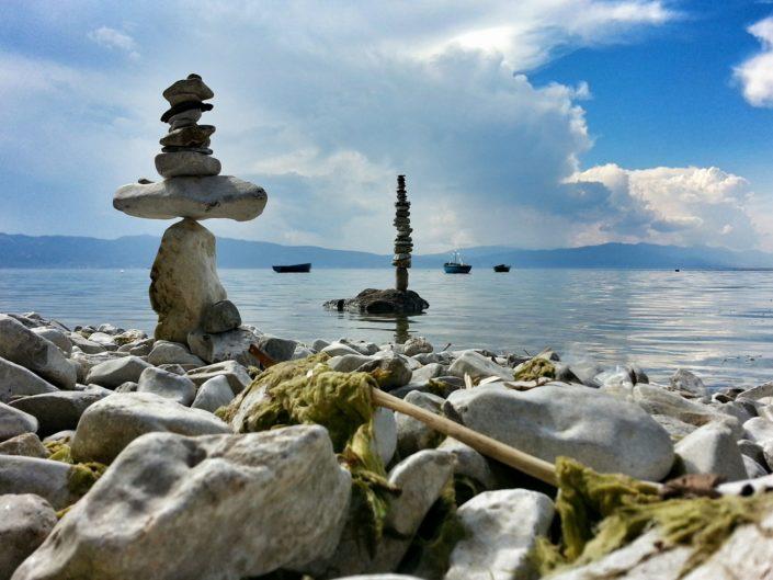 Trpejca - stone balancing