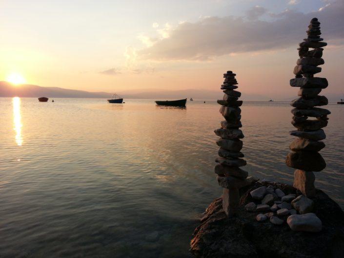 Two - stone balancing