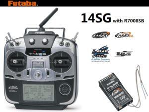 Futaba 14sg transmitter with R7008SB receiver