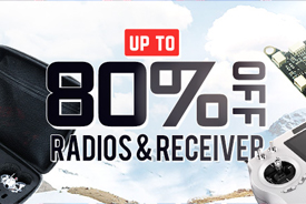 RC Radio & Receiver Promotion Up to 35% OFF