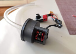 Finished DIY 3D printed water pump with brushless motor