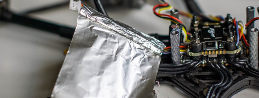 Shielding the GPS cable on the FlyWoo Hexplorer