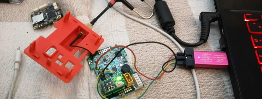 Flashing ExpressLRS on the R9M module with ST-LINK