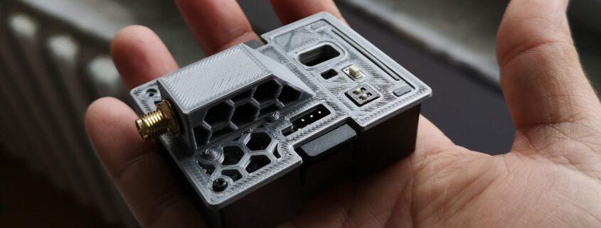 ExpressLRS fan mod 3D printed cover